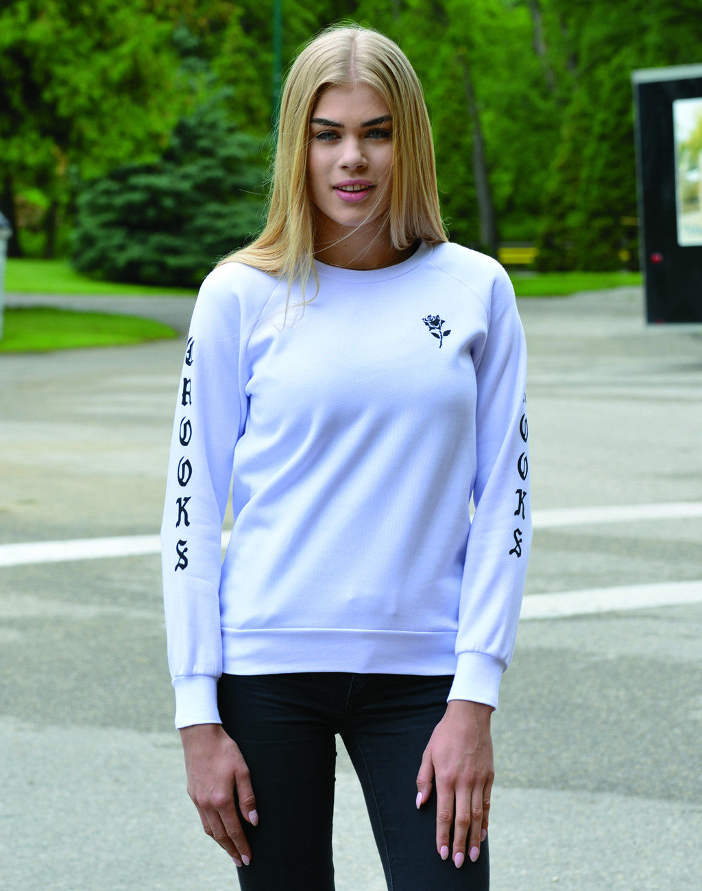 Women's Crooks & Castles Tribute Crew