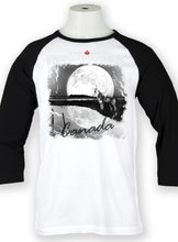 Load image into Gallery viewer, Midnight Moon Howl Baseball Tee