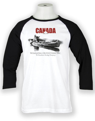 True Canadian Baseball Tee