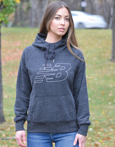 Women's New Balance Heathered Pullover