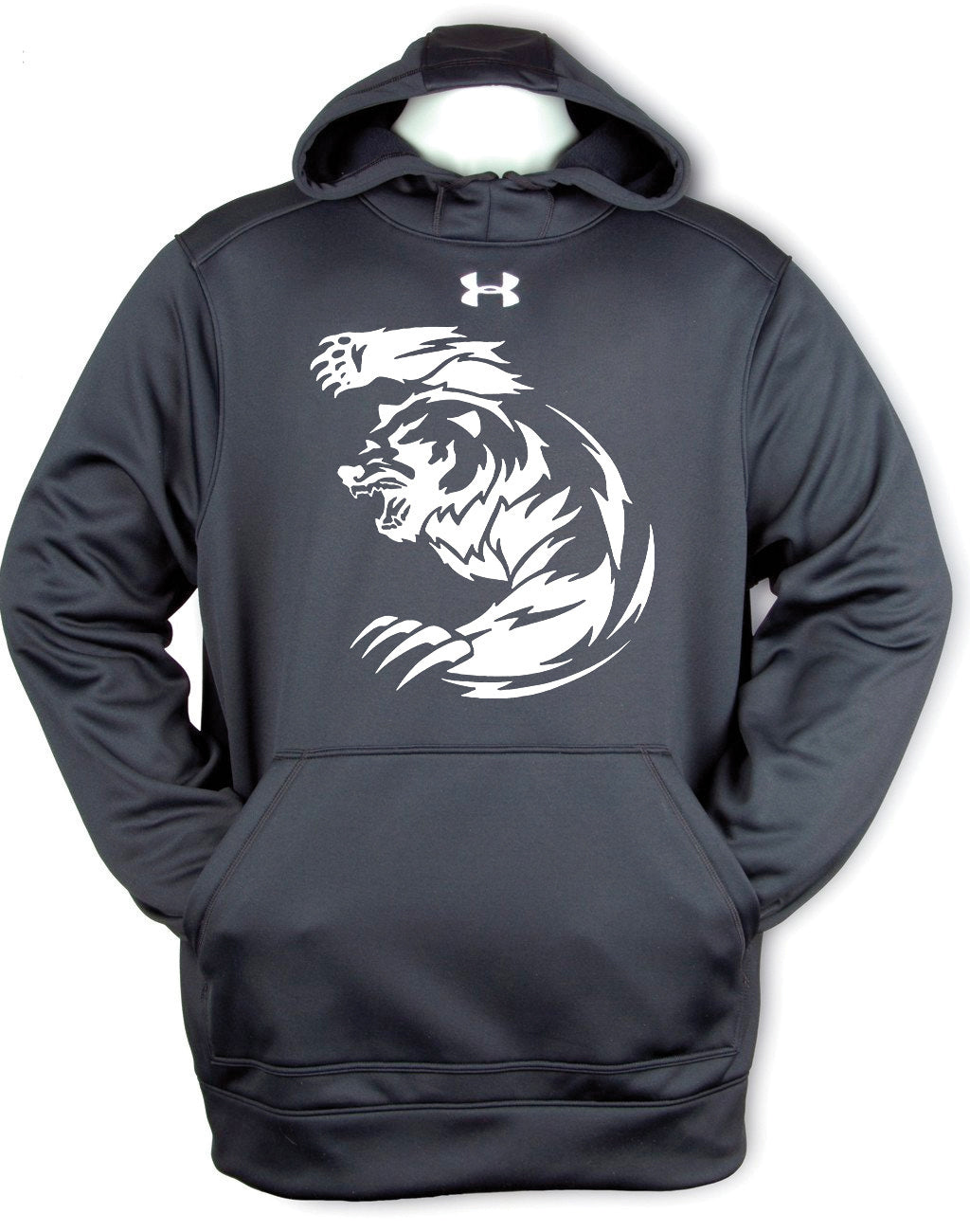 Unisex Under Armour Printed Tribal Grizzly Bear Hoody