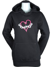 Load image into Gallery viewer, Women's C&C Chained Heart Pullover