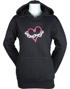 Women's C&C Chained Heart Pullover