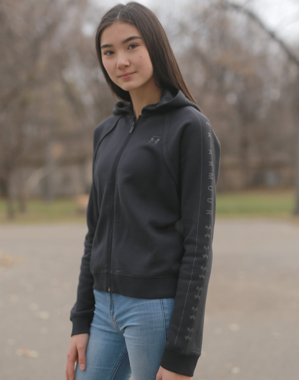 Women's Under Armour Rival Zip Hoody