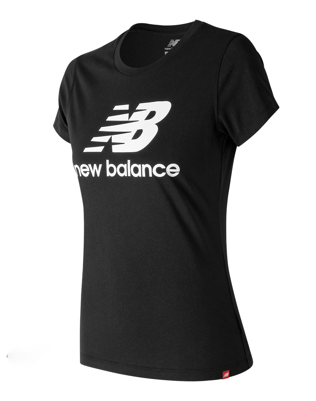 Women's New Balance Essentials Stacked Logo Tee