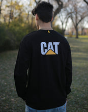 Load image into Gallery viewer, Men's Cat Trademark Pocket L/S Tee