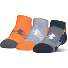 Load image into Gallery viewer, Youth Under Armour Next Statement 3PK No Show Socks