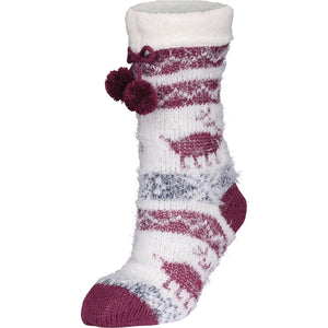 Women's Ganka Print Slipper Socks