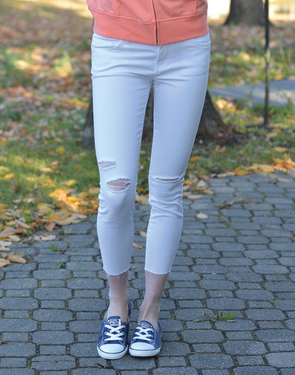 Women's Vans 'Destructed Skinny Jean'