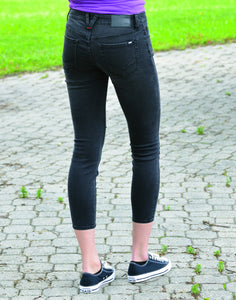 Women's Vans Destructed Skinny Jean
