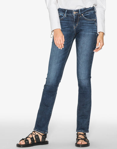 Women's Silver Avery Slim Jean