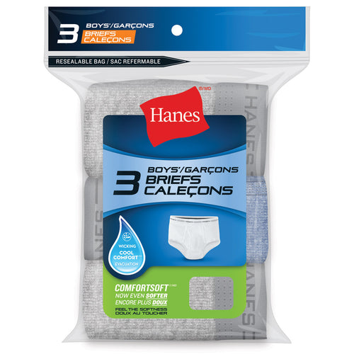 Boy's Hanes 3Pk Brief