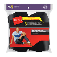 Load image into Gallery viewer, Men's 6Pk Hanes Low Cut