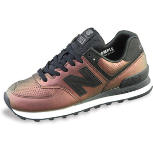 Women's New Balance 574 Dark Sheen Shoe