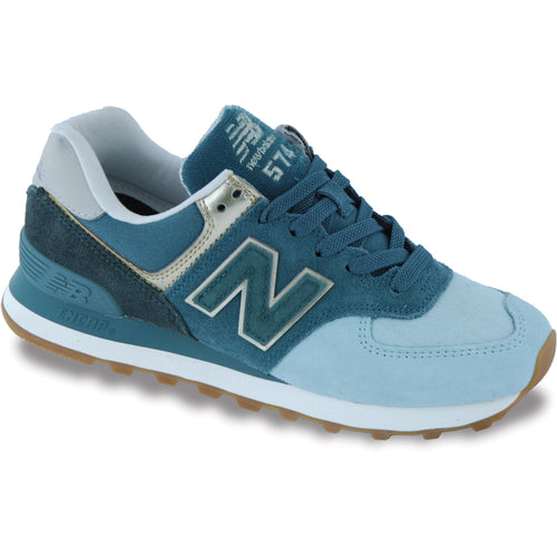 Women's New Balance Metallic Patch Shoe