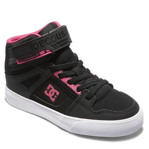 Girl's DC Pure High Top Shoe