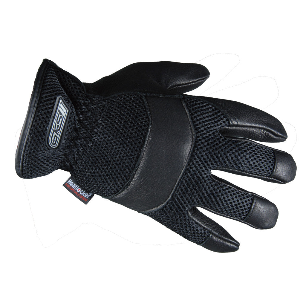 Men's Ganka Deerskin Mesh Back Glove