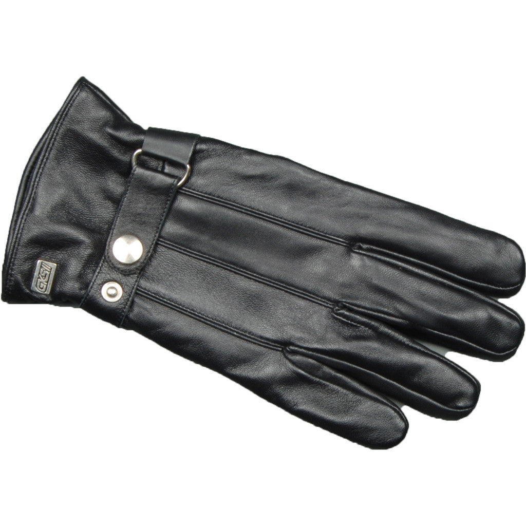 Men's Ganka Leather Glove With Strap