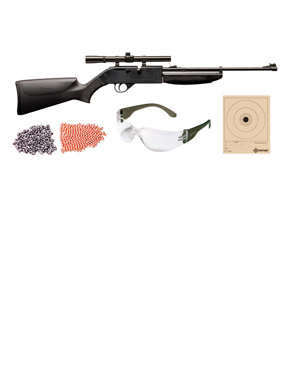 Crosman 760 Rifle Starter Kit