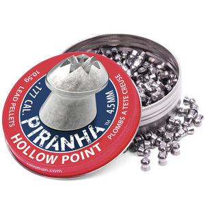 Crosman 22 Cal Piranha Hollow Pt. Pellet