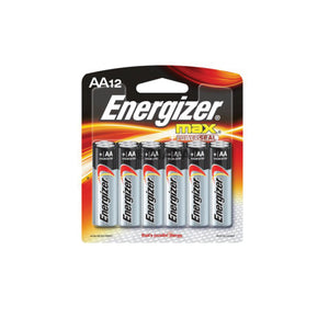 Energizer Max AA 12 Family Pack