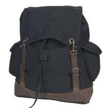 Load image into Gallery viewer, Misty Mountain Heritage Canvas Laptop Bag