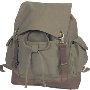Misty Mountain Heritage Canvas Laptop Bag