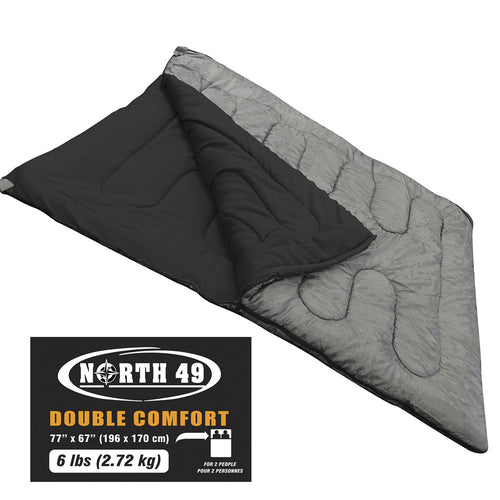North 49 Double Comfort Sleeping Bag