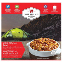 Load image into Gallery viewer, Wise Company Camping Food -Chili Mac w/Beef