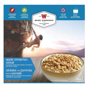 Wise Company Camping Food-Apple Cinnamon Cereal