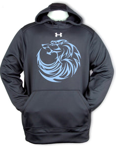 Under Armour Printed Blue Wolf Hoody