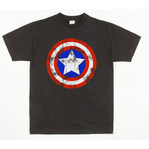 Youth Custom Printed Captain America Sheild