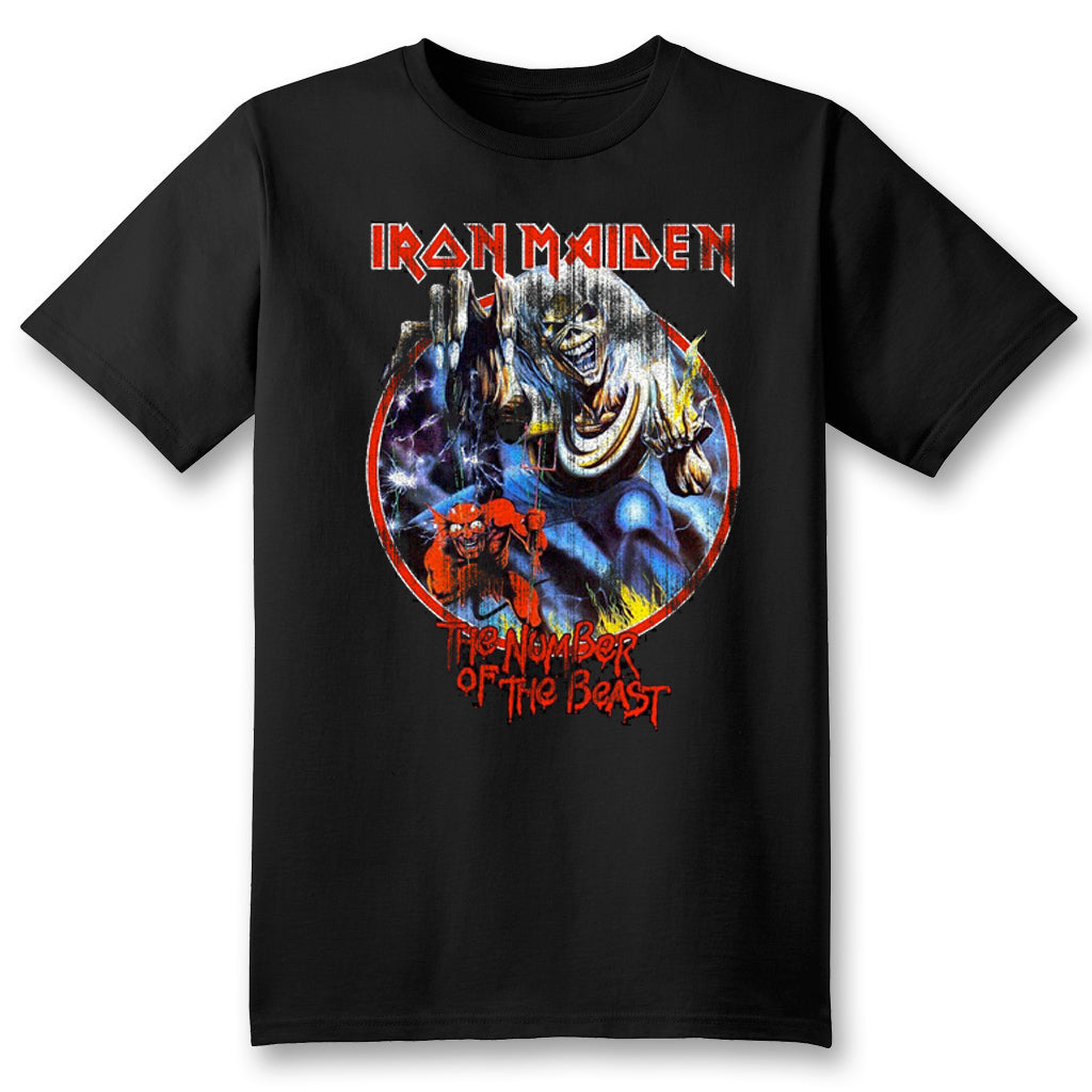 Unisex Custom Iron Maiden Tee