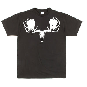 Unisex Custom Graphic Moose Skull Tee