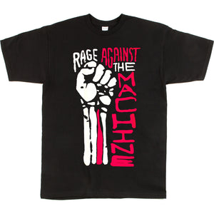 Unisex Custome Printed Rage Against Tee