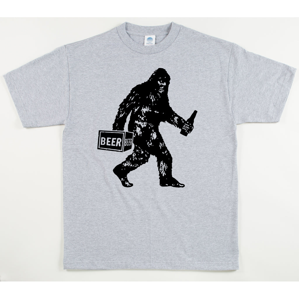 Unisex Custom Printed Sasquatch Big Drunk Tee