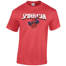 Load image into Gallery viewer, Unisex Custom Printed Spider Man Tee