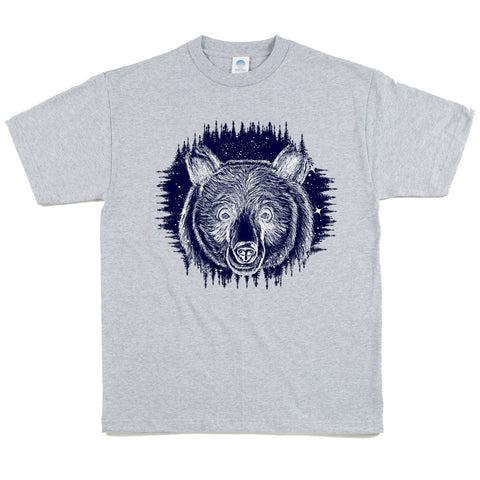 19e435e37ee5 Unisex Custom Printed Spirit Bear Night Tee