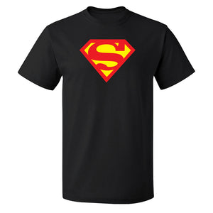 Unisex Custom Printed Superman Symbol