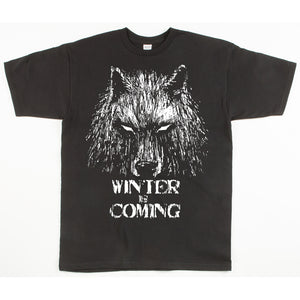 Unisex Custom Printed Winter Is Coming Tee