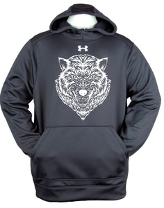 Under Armour Printed Wolf Face Hoody