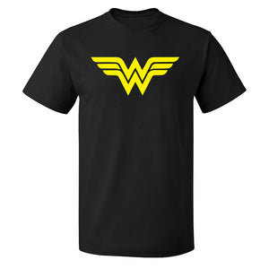 Unisex Custom Printed Wonder Women Symbol