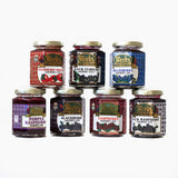 Gourmet Jam - Black Currant, Black Raspberry, Blackberry, Blueberry, Purple Raspberry, Raspberry, Strawberry Rhubarb
