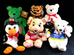 Plush Bears, Celebrity Bears, Holy Bears, Legends of Faith, Harley Davidson