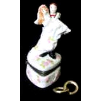 Bride and Groom Trinket Box