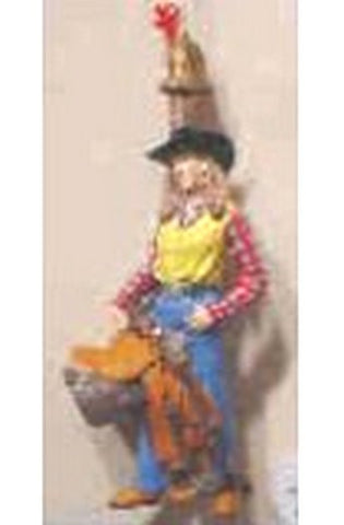 Western Cowgirl Ornament