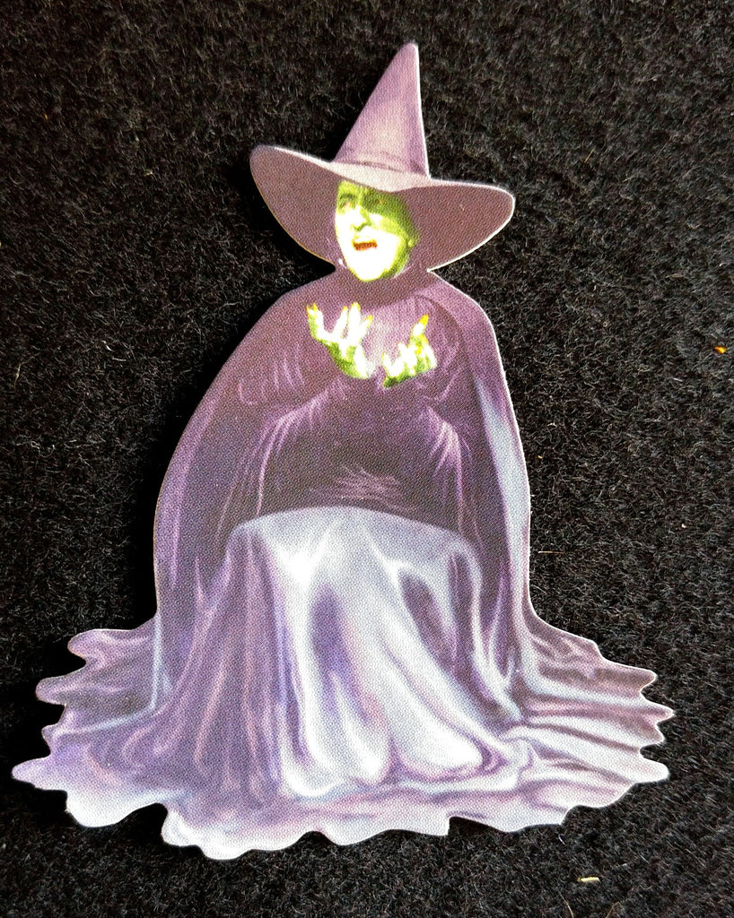 Wizard Of Oz Mini Diecut For Scrapbooking - Wicked Witch
