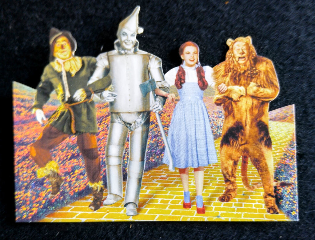 Wizard Of Oz Mini Diecut For Scrapbooking - Ruby Slippers