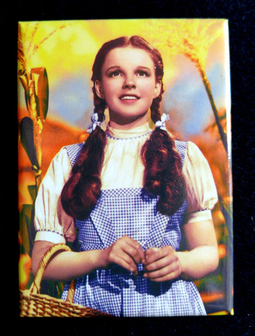 Wizard Of Oz Magnet Dorothy In Wheat Field