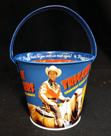 Roy Rogers Tin Pail